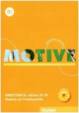 Motive - Kompaktkurs DaF B1 - Arbeitsbuch - Lektion 19-30 +MP3-Audio-CD