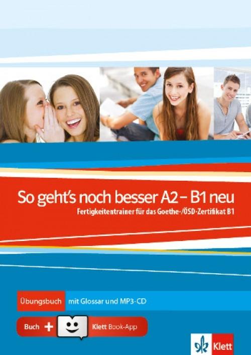 So Gehts Noch Besser A2 B1 Neu übungsbuch Mit Glossar Und Mp3 Cd