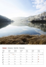 Kalender 2019 - Deutschlands Seen 2