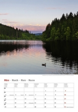 Kalender 2019 - Deutschlands Seen 4