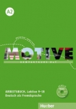 Motive - Kompaktkurs DaF A2 - Arbeitsbuch - Lektion 9-18 +MP3-Audio-CD