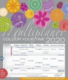 Familienplaner 2020 - Colour your time