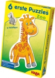 HABA - 6 Erste Puzzles - Zoo - 6 x 3 Teile
