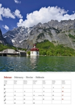 Kalender 2019 - Deutschlands Seen 3
