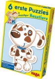HABA - 6 erste Puzzles - Haustiere - 6 x 3 Teile